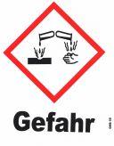 GHS 05 Gefahr 20x20