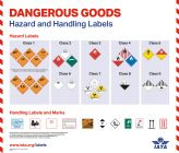 "IATA Poster ""Dangerous Goods Hazard and Handling Labels"" (9090-04)"