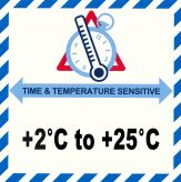 IATA Time & Temperatur 2-25°C
