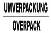 Umverpackung Overpack 100x150
