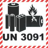 Lithium Batterien 10x10 UN 3091 NEU ab 2021