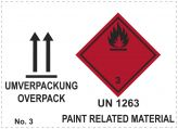 Umverpackung UN 1263 Paint Related Materials