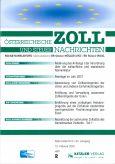 Österreichische Zoll- und Steuernachrichten Einzelheft