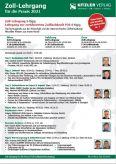 Lehrgang zur zertifizierten Zollfachkraft P36