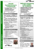 Haftung & Versicherung in der Logistik/ bei Transporten