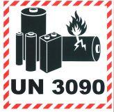 Lithium Batterien 10x10 UN 3090 NEU ab 2021