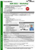 Webinar ADR 2021 - Workshop