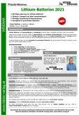 Webinar Lithium-Batterien 2021