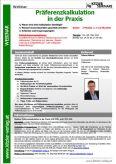 Webinar Präferenzkalkulation in der Praxis