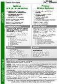 Webinar Lithium-Batterien 2020