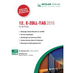 12. E-Zoll-Tag 2019