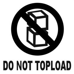 DO NOT TOPLOAD 100x100