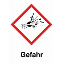GHS 01 Gefahr 28x28