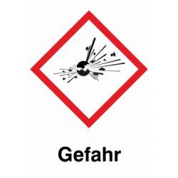 GHS 01 Gefahr 10x10