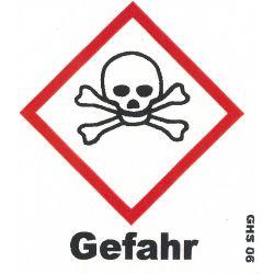 GHS Gefahr 10x10