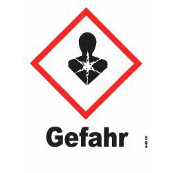 GHS 08 Gefahr 40x40