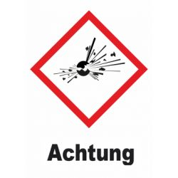GHS 01 Achtung 40x40