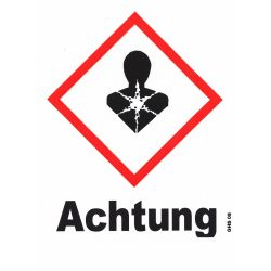 GHS 08 Achtung 40x40
