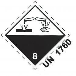 GZ 8 100 x 100 mit UN 1760