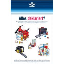 "IATA Poster ""Alles deklariert?"""
