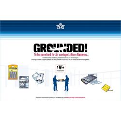"IATA Poster ""Grounded"""
