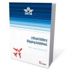 IATA Lithium Battery Shipping Guidelines 2019 (9726,60)