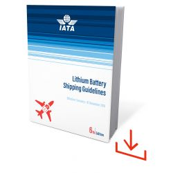 IATA Lithium Battery Shipping Guidelines 2019 DL (9678-60)