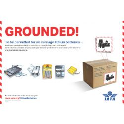 "IATA Poster ""Grounded"" (9720-00)"