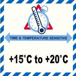 IATA Time & Temperatur 15-20°C