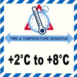 IATA Time & Temperatur 2-8°C