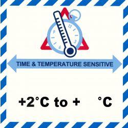 IATA Time & Temperatur 2- °C