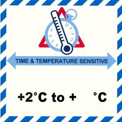 IATA Time & Temperatur 2- °C