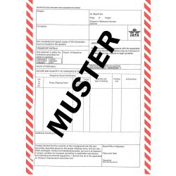 IATA Shippers Declaration