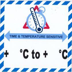 IATA Time & Temperatur - ohne Text
