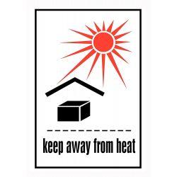 IATA Keep away from heat