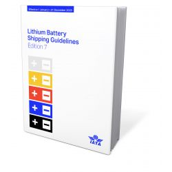 IATA Lithium Battery Shipping Guidelines 2020 (9726,61)
