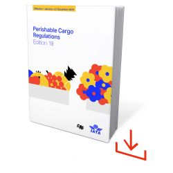 IATA Perishable Cargo Regulations 2020 Windows Software (9572-19)