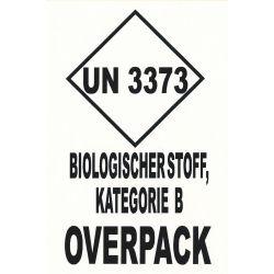 UN 3373 Kat. B deutsch 100x150