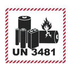 IATA Batterie 120x110 UN 3481