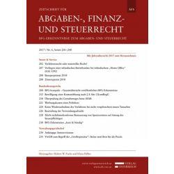 Zeitschrift für Abgaben-, Finanz- und Steuerrecht