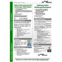 ADR-Unterweisung für Gefahrgut-Mitarbeiter