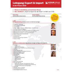 Lehrgang Export & Import 2019