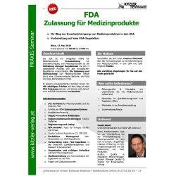 FDA Zulassung für Medizinprodukte