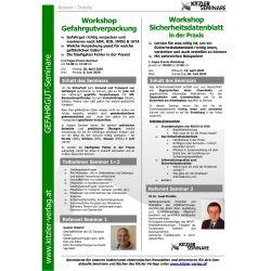 Workshop Gefahrgutverpackung