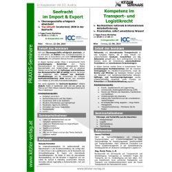 Kompetenz im Transport- und Logistikrecht