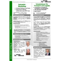 Intrastat-Workshop