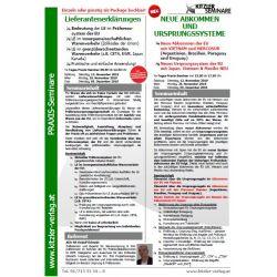 Neue Abkommen & Ursprungssysteme