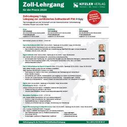 Zoll-Lehrgang zur zertifizierten Zollfachkraft P36