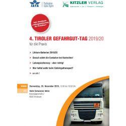 4. Tiroler Gefahrgut-Tag 2019/20 für die Praxis