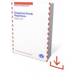 IATA DGR 2020 61st Edition Englisch Windows Software (9674-61-9